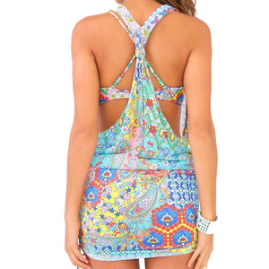 SIREN DANCE - T Back Mini Dress