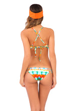 OCEAN WHISPERS - Underwire Adjustable Top & Hot Buns Bottom • Multicolor
