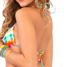 OCEAN WHISPERS - Molded Push Up Bandeau Halter Top