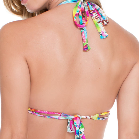 PARAISO - Triangle Halter Top