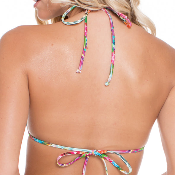 PARAISO - Strings To Braid Halter Top
