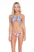 PARAISO - Strings To Braid Halter Top & Double Braided Moderate Bottom • Multicolor