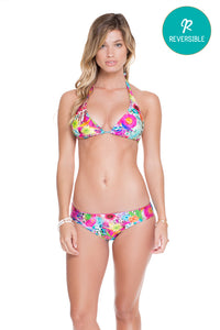 PARAISO - Halter Top & Full Bottom • Multicolor