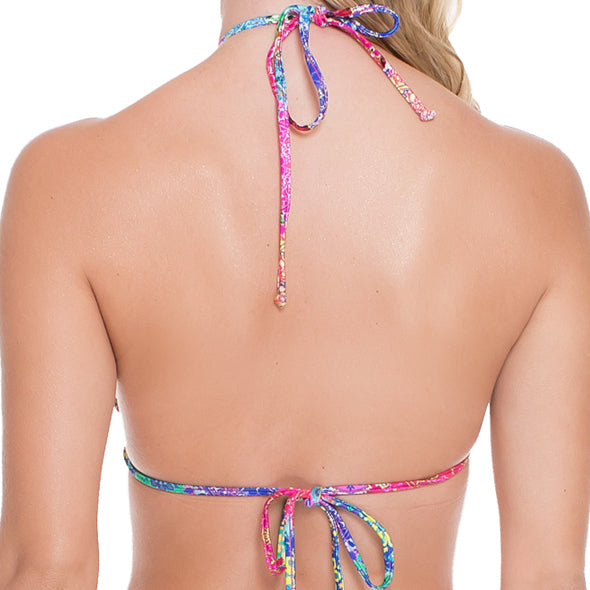 SUNBURST - Strings To Braid Halter Top