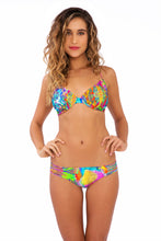 BAREFOOT & FREE - Underwire Adjustable Top & Multi Strings Full Bottom • Multicolor