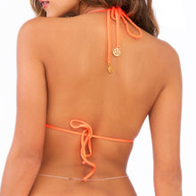 SONG OF THE SEA - Molded Push Up Bandeau Halter Top