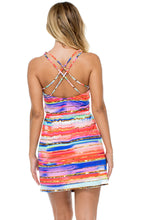 BELLAMAR - Cut Out Dress • Multicolor