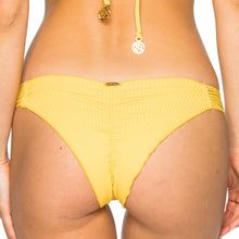 COSTA DEL SOL - Strappy Brazilian Ruched Back Bottom