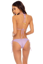ORILLAS DEL MAR - Triangle Top & Wavey Ruched Back Brazilian  Tie Side Bottom • Unicorn