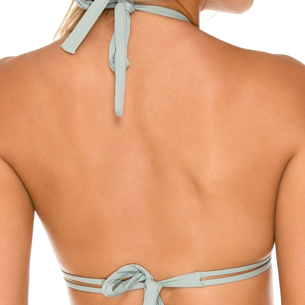 ORILLAS DEL MAR - Triangle Halter Top