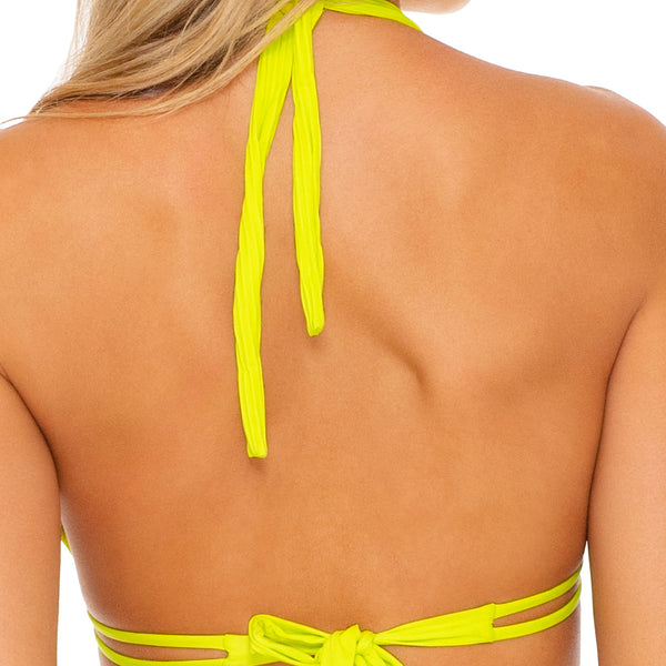 ORILLAS DEL MAR SUMMER - Triangle Halter Top