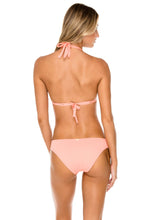 ORILLAS DEL MAR - Triangle Halter Top & Full Bottom • Puesta Del Sol