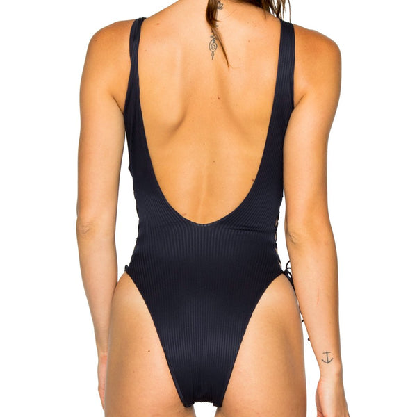 COSTA DEL SOL - Open Side One Piece Bodysuit