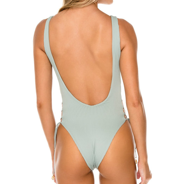 ORILLAS DEL MAR - Open Side One Piece Bodysuit
