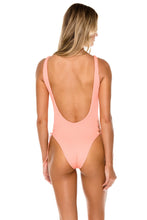 ORILLAS DEL MAR - Open Side One Piece Bodysuit • Puesta Del Sol