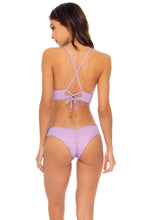 ORILLAS DEL MAR - Cross Back Bustier Top & Waveyruched Back Brazilian Bottom • Unicorn