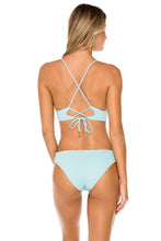 ORILLAS DEL MAR - Cross Back Bustier Top & Full Bottom • Acuario