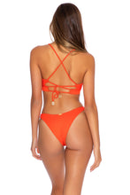 ORILLAS DEL MAR - Underwire Top & High Leg  Bottom • Fuego