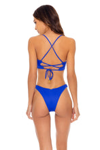 ORILLAS DEL MAR - Underwire Top & High Leg  Bottom • Blue My Mind