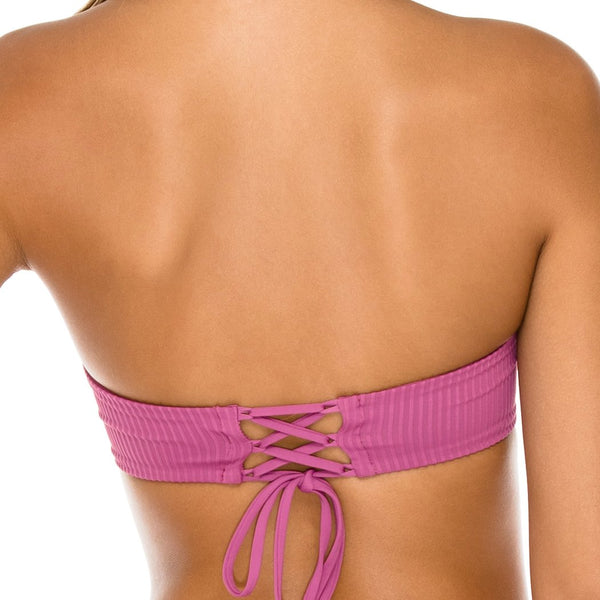 ORILLAS DEL MAR - Underwire Bandeau Top