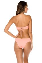ORILLAS DEL MAR - Underwire Bandeau Top & Moderate Bottom • Puesta Del Sol