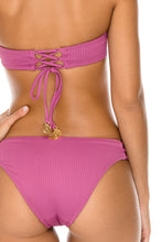 ORILLAS DEL MAR - Underwire Bandeau Top & Full Bottom • Frambuesa