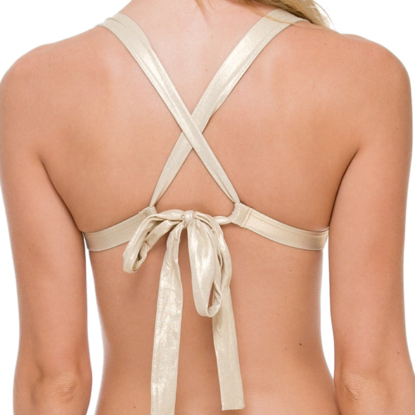 WARRIOR SPIRIT - Adjustable Back Halter Top
