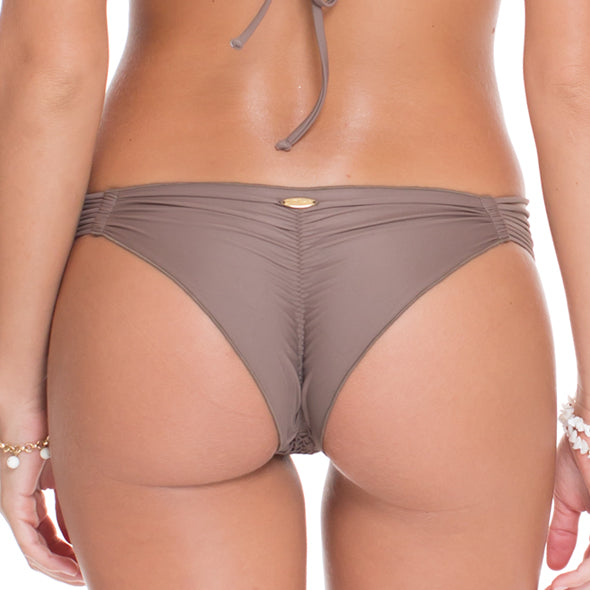 COSITA BUENA - Strappy Brazilian Ruched Back Bottom