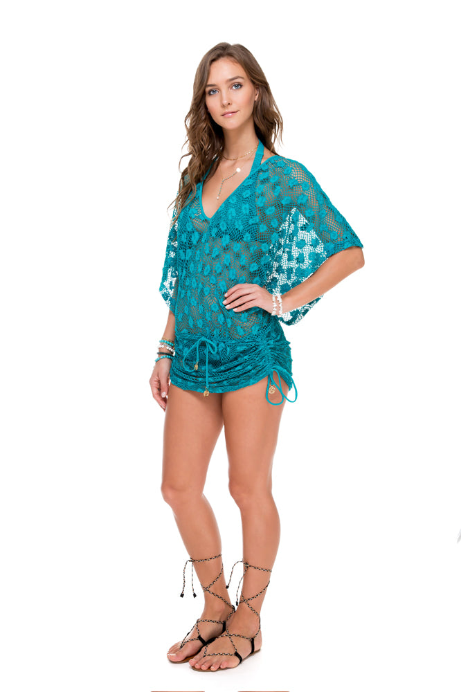 COSITA BUENA - Cabana V Neck Dress • Exuma