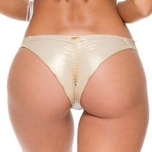 MUCHACHITA LINDA - Strappy Brazilian Ruched Back Bottom