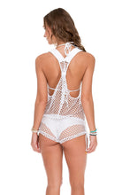 SAILOR'S KISS - T Back Romper • White