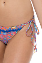CANDELA - Triangle Top & Wavey Ruched Back Brazilian Tie Side Bottom • Multicolor