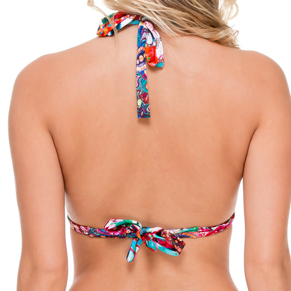 LIKE A FLAME - Triangle Halter Top