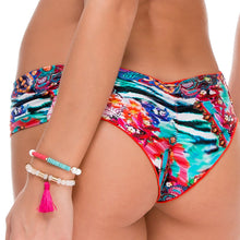 LIKE A FLAME - Scrunch Ruched Back Brazilian Bottom