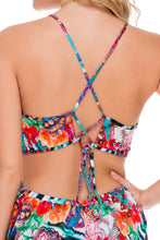 LIKE A FLAME - Fire Fly Romper • Multicolor