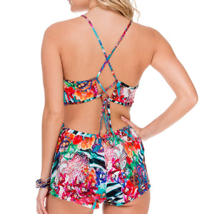 LIKE A FLAME - Fire Fly Romper
