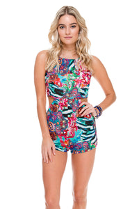 LIKE A FLAME - Fire Fly Romper • Multicolor (874453172268)