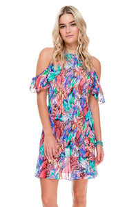 GORGEOUS CHAOS - Willow Dress • Multicolor (874442260524)