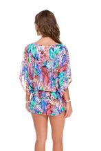 GORGEOUS CHAOS - Cabana V Neck Dress • Multicolor