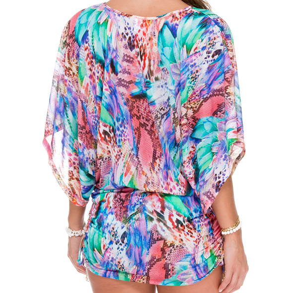 GORGEOUS CHAOS - Cabana V Neck Dress