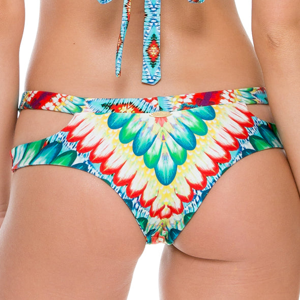 WILD HEART - Split Side Cheeky Reversible Bottom