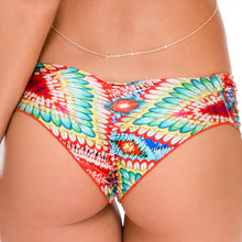 WILD HEART - Scrunch Ruched Back Brazilian Bottom