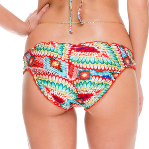 WILD HEART - Full Ruched Back Bottom