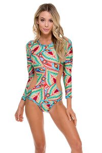 WILD HEART - Touch The Sky Bodysuit • Multicolor (874517757996)