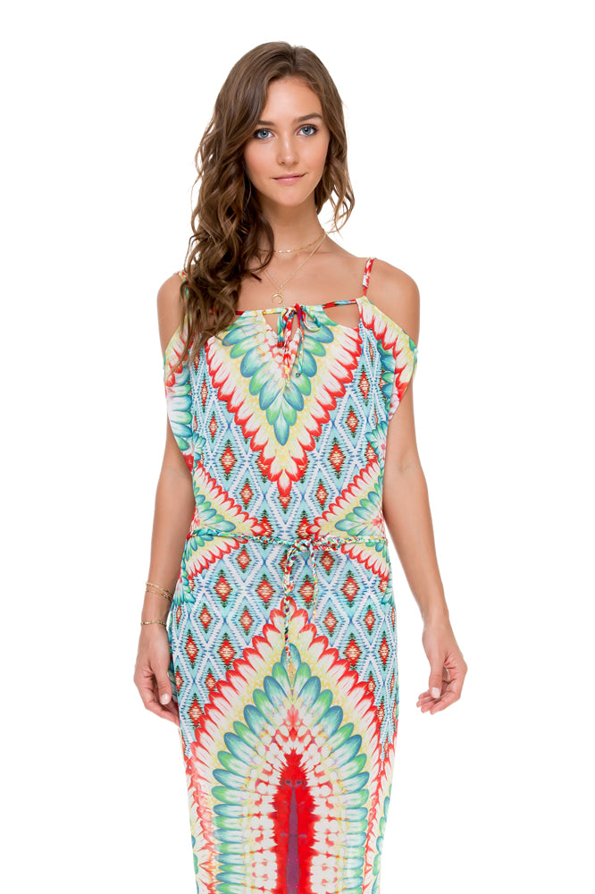WILD HEART - Island Dress • Multicolor