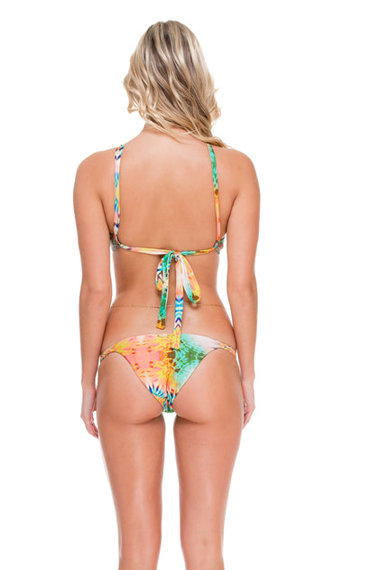 CALLEJERA - Splendid Top & Double Braided Moderate Bottom • Multicolor