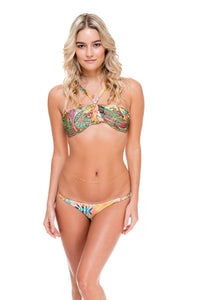 CALLEJERA - Splendid Top & Double Braided Moderate Bottom • Multicolor (874421190700)