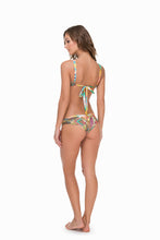 CALLEJERA - Splendid Top & Cut Out Reversible Cheeky Bottom • Multicolor