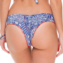 NAUGHTY GIRL - Wavey Ruched Back Brazilian Bottom