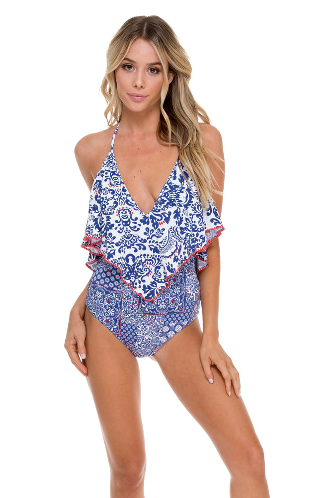 NAUGHTY GIRL - Ruffle One Piece • Multicolor (874459529260)